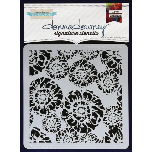 Donna Downey Signature Series Stencils - Blooming Floral