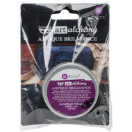 Prima Finnabair Art Alchemy, Antique Brilliance Wax  .68 fl oz, 20 ml, Amethyst Magic, Scrapify, Australia