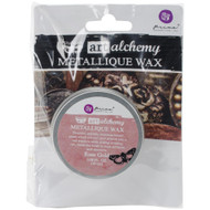 Prima Finnabair Art Alchemy, Metallique Wax  .68 fl oz, 20 ml, Rose Gold, Scrapify, Australia