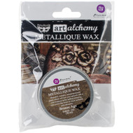Prima Finnabair Art Alchemy, Metallique Wax  .68 fl oz, 20 ml, Bronze Age, Scrapify, Australia