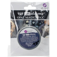 Prima Finnabair Art Alchemy, Opal Magic Wax,  .68 fl oz, 20 ml, Blue Velvet, Scrapify, Australia