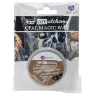 Prima Finnabair Art Alchemy, Opal Magic Wax,  .68 fl oz, 20 ml, Vintage Silk, Scrapify, Australia