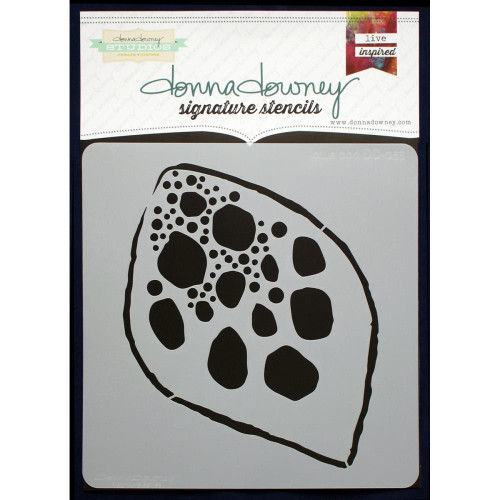Donna Downey Signature Series Stencils - Lotus Pod