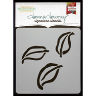 Donna Downey Signature Series Stencils - Triple Leaf