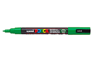 Uni Posca PC - 1M 1.3mm, Green, Bullet Shape, Scrapify, Australia
