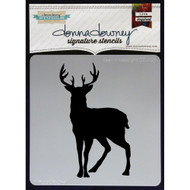 Donna Downey Signature Series Stencils - Deer In Headlights