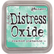 Ranger, Tim Holtz Distress Oxides Ink Pad - Cracked Pistachio, Scrapify, Australia