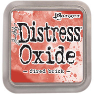 Ranger, Tim Holtz Distress Oxides Ink Pad - Fired Brick, Scrapify, Australia