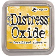 Ranger, Tim Holtz Distress Oxides Ink Pad - Fossilized Amber, Scrapify, Australia