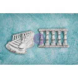 Prima Shabby Chic Treasures Resin Embellishments Railings 2/Pkg, Scrapify, Australia