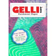 Gelli Arts, Parchment Paper, Flat Sheets, 12x16in, approx 50 sheets, Scrapify, Australia