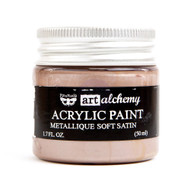 Prima Finnabair Art Alchemy Acrylic Paint - Metallique Soft Satin, Scrapify, Australia