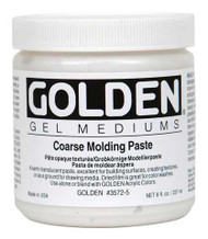 Golden Gel Medium, Coarse Molding Paste, 8oz Jar , Scrapify, Australia
