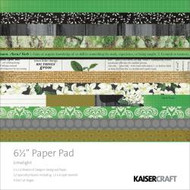 Kaisercraft  6.5in, Paper Pad, Limelight, Design paper, 40 Page Pad, 2x12 sheets Designed Paper, 12xSpecialty Papers, 4xDie Cut Pages, Scrapify, Australia