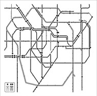 "The Crafter's Workshop Stencils 12""x12"" - Subway designed by Ronda Palazzari"