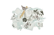 Kaisercraft  Collectables, Pitter Patter Boy, Die Cut Shapes, Scrapify, Australia