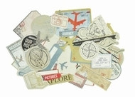 Kaisercraft  Collectables, Now Boarding, Die Cut Shapes over 50 pcs, Scrapify, Australia