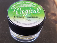 Lindy's Stamp Gang - Pigment Powders - Magicals -freaky franken lime, Scrapify, Australia