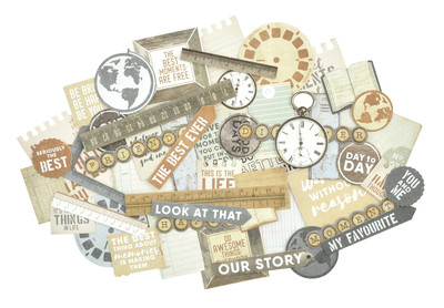 Kaisercraft  Collectables, Die Cut Shapes, Documented, over 50 pcs, CT898, Scrapify, Australia