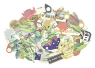 Kaisercraft  Collectables, Die cut shapes, Open Road, over 50 pcs, CT896, Scrapify, Australia