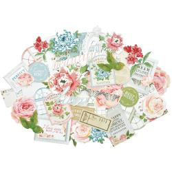 Kaisercraft  Collectables, Die cut shapes,Rose Avenue, over 50 pcs, Scrapify, Australia