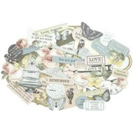 Kaisercraft  Collectables, Die cut shapes, over 50 pc  Romantique, Scrapify, Australia