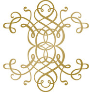 COUTURE CREATIONS -Anna Griffin Foil Stamp Die, Curling Motif, 89 x 95.4 mm, Scrapify, Australia