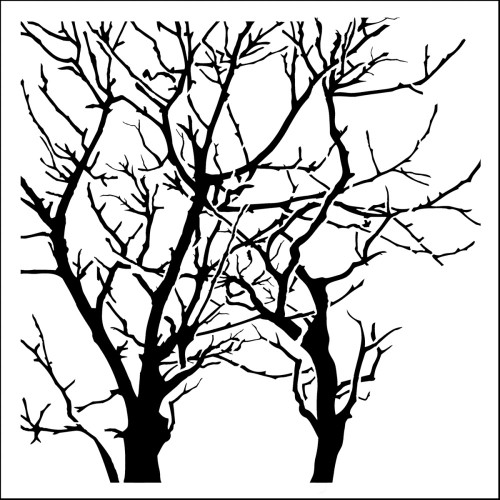 """The Crafter's Workshop Stencils 12""""x12"""" - Branches Reversed, Scrapify, Australia"""