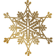 COUTURE CREATIONS -Anna Griffin Foil Stamp Die, 70.8 x 80 mm, Snowflake, Scrapify, Australia