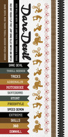 Kaisercraft Game On, Sticker Sheet, Extreme, 15 x 30cm sheet, Scrapify, Australia