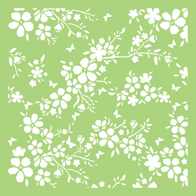 Kaisercraft, Designer Template, 6 x 6in, Bloom, Scrapify, Australia