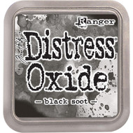 Ranger, Tim Holtz Distress Oxides Ink Pad - Black Soot, Scrapify, Australia
