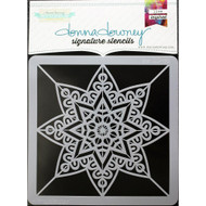 Donna Downey Signature Series Stencils, Star, 8.5 x 8.5in, Scrapify, Australia