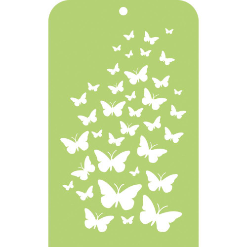 Kaisercraft, mini designer template, butterfly skies, 3.5 x 5.75 in, Scrapify, Australia