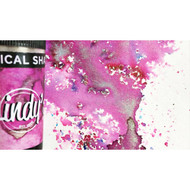 Lindy's Stamp Gang - Magical Shakers - Magnolia Magenta Gold (15g), Scrapify, Australia