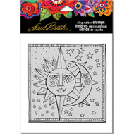 Stampendous Laurel Burch Cling Stamp, Celestial, Scrapify, Australia