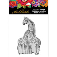 Stampendous Laurel Burch Cling Stamp, Giraffes, Scrapify, Australia