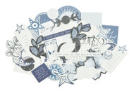 Kaisercraft  Collectables, Die cut shapes, Stargazer, over 40 pcs, CT937, Scrapify, Australia