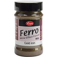 Viva Decor, Ferro (Metal Effect Colour), 90ml Eisen Gold (Iron Gold), Scrapify, Australia
