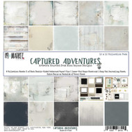 49 and Market, 12×12 Captured Adventures Collection Pack, Scrapify, Australia