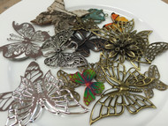 Metal Pieces - Butterfly Pack, Scrapify, Australia