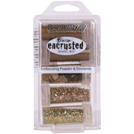 STAMPENDOUS-Encrusted Jewel Kit (5Pkt) - Gold