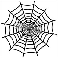 "The Crafter's Workshop Stencils 12""x12"" - Spiderweb"