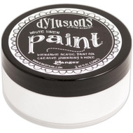 Dylusions Paint 2oz - White Linen, Scrapify, Australia