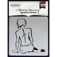 Donna Downey Signature Series Stencils - Finding Strength, Scrapify, Australia