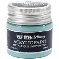 Prima Finnabair Art Alchemy Acrylic Paint - Metallique Light Patina