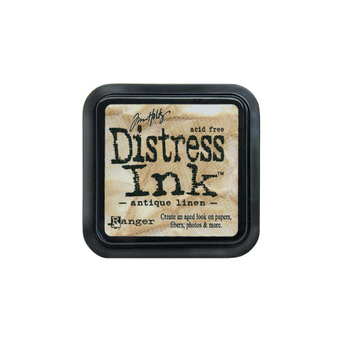 Ranger - Tim Holtz Distress Ink Pad - Antique Linen, Scrapify, Australia