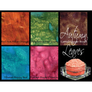 Lindy's Stamp Gang - Pigment Powders -  Magicals - Autumn Leaves - pk 5, Scrapify, Australia