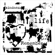 "The Crafter's Workshop Stencils 6""x6"" - Mini Life Remembered - Rebekah Meier"