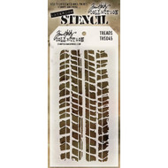 Tim Holtz, Collection, Stampers Anonymous, Layering Stencil, Treads, Scrapify, Australia